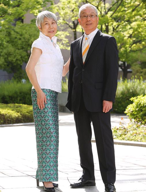 末吉 清美と園田の写真